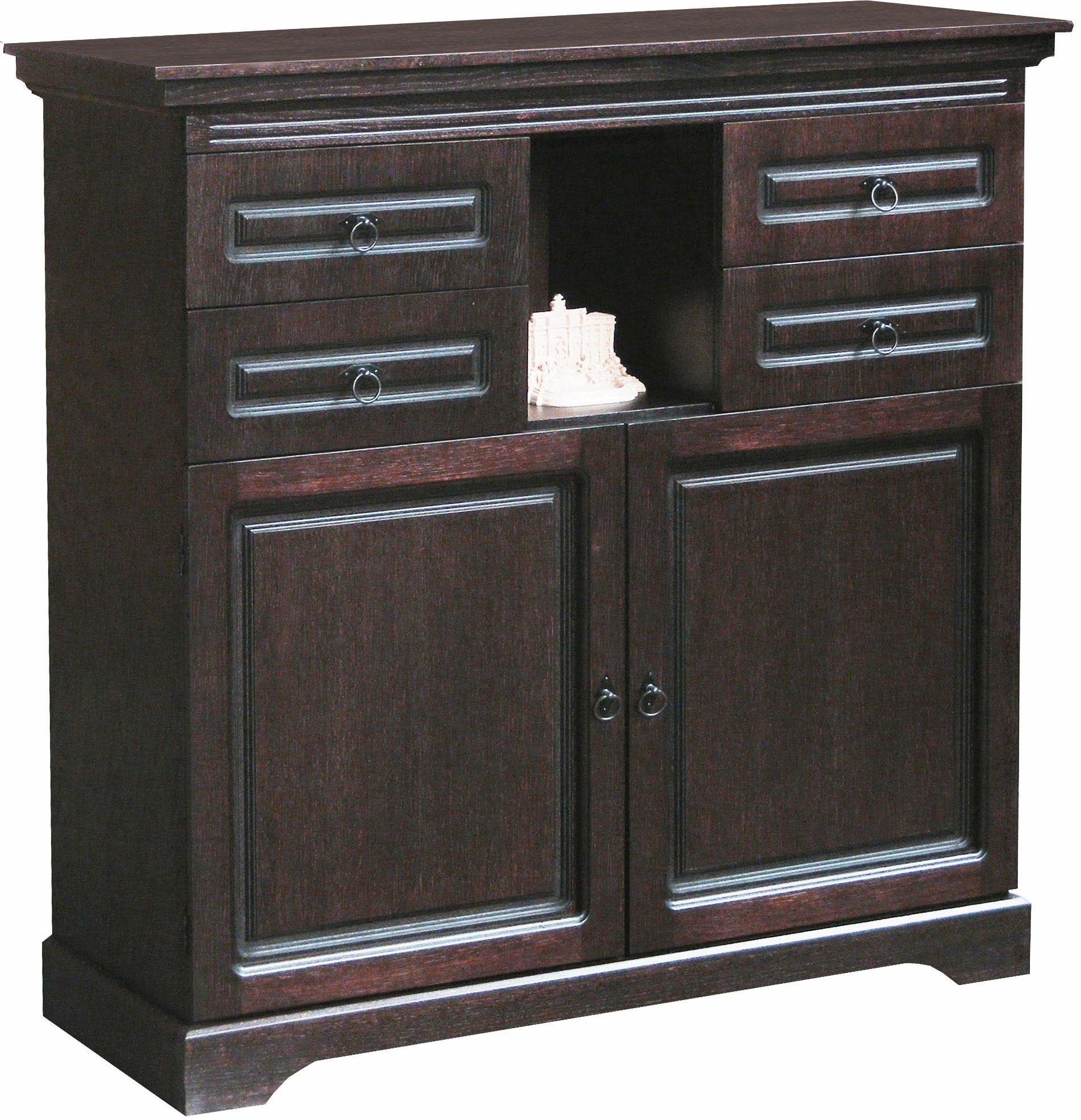 Highboard 120 Cm Breit Home Affaire Highboard Porto Rico Breite 120 Cm Otto