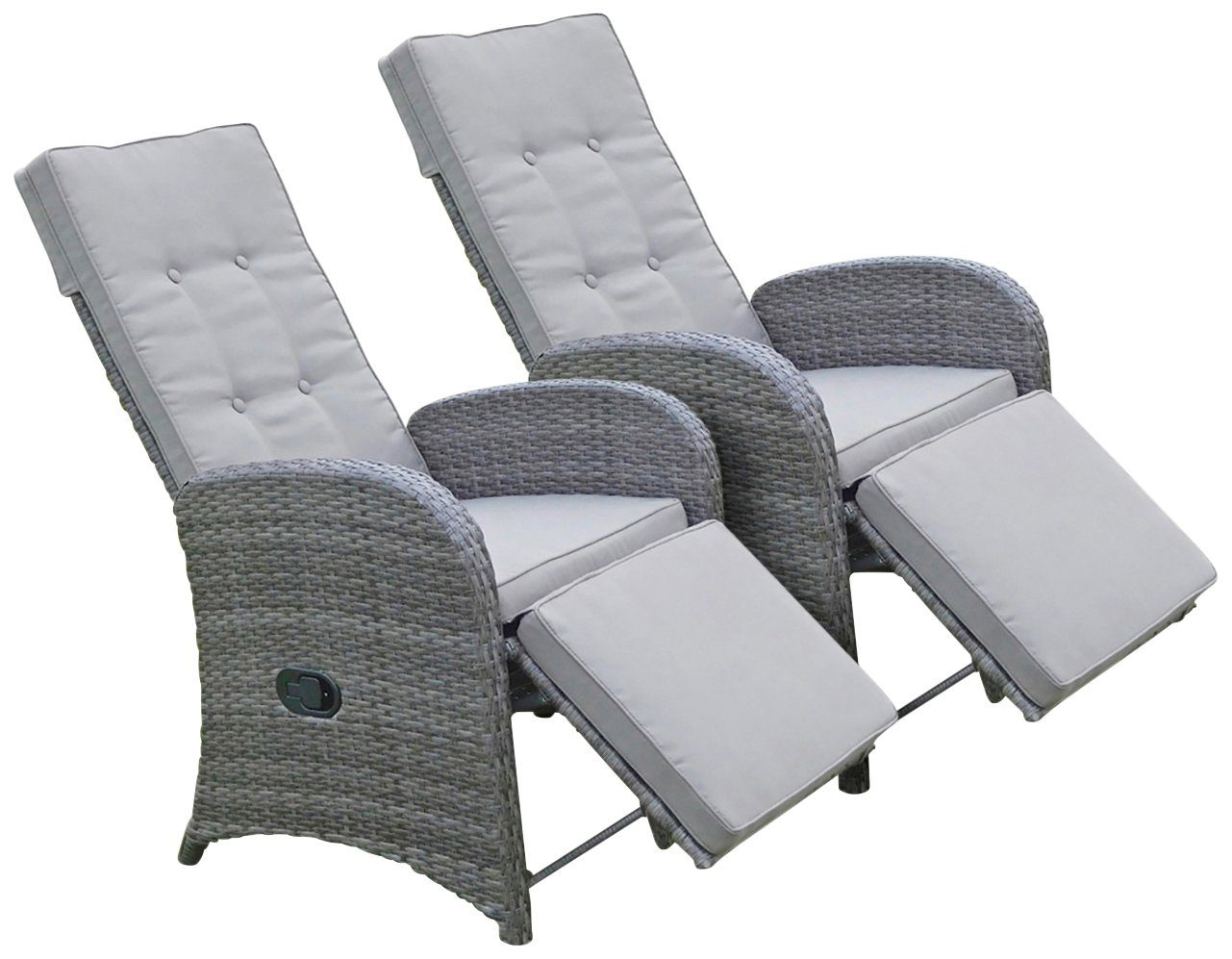 Lounge Sessel Garten Günstig Garden Pleasure Loungesessel »salerno«, (2er-set