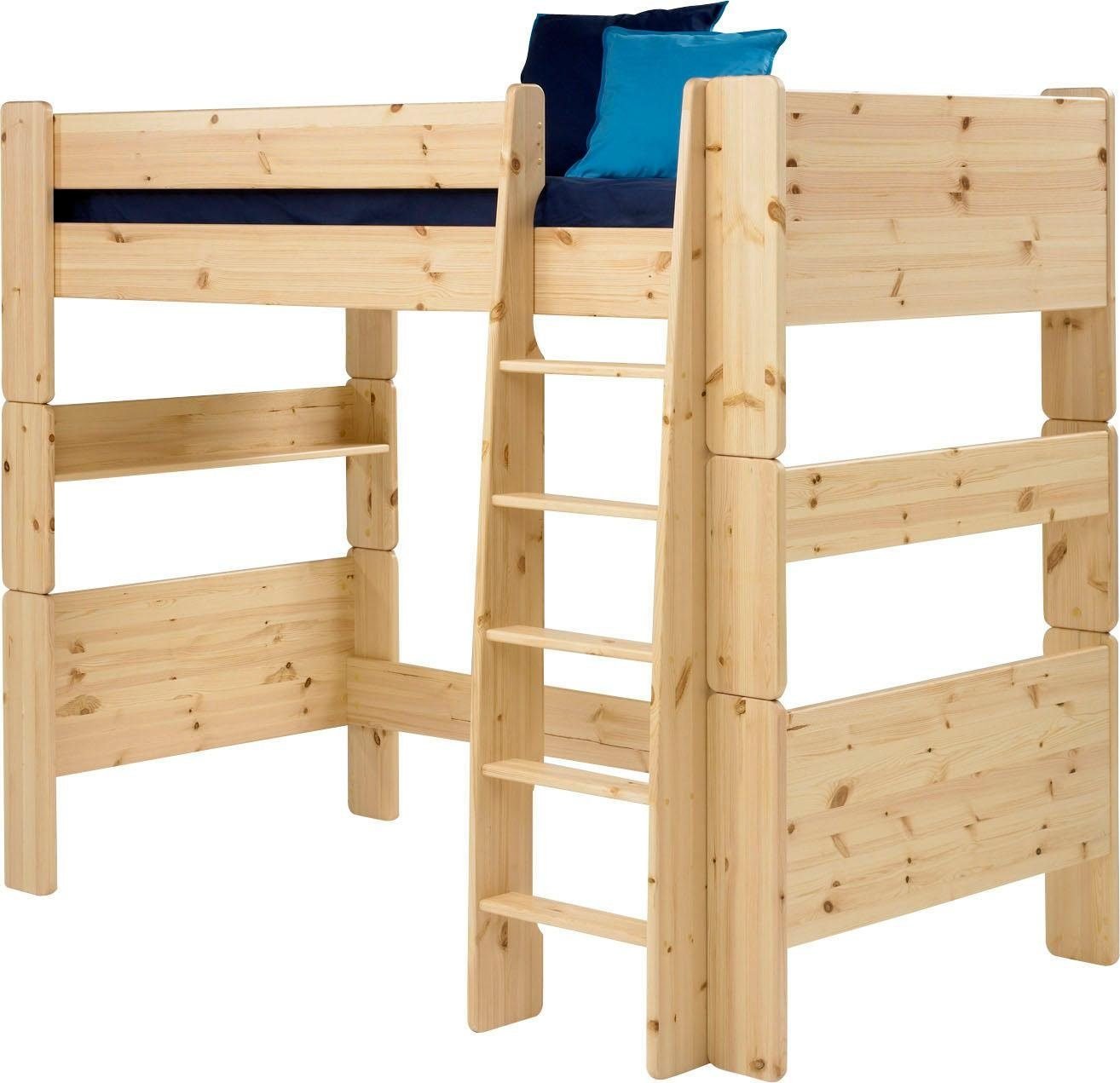Multifunktionsbett Kinder Home Affaire Hochbett »for Kids« Mit Leiter, In