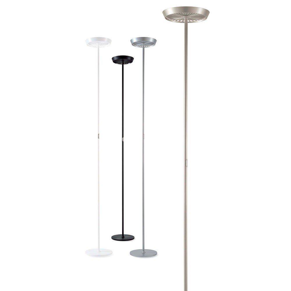 Standleuchte Led Dimmbar Rotaliana Led Stehleuchte Prince 4850 Lumen Dimmbar Champagner Online Kaufen Otto