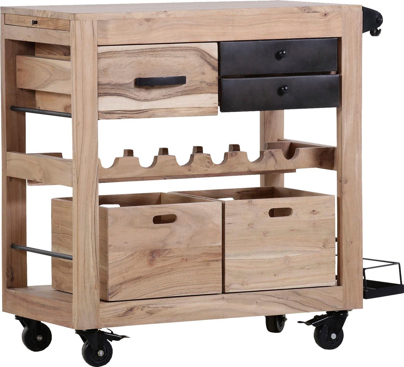 Kuechenwagen Holz