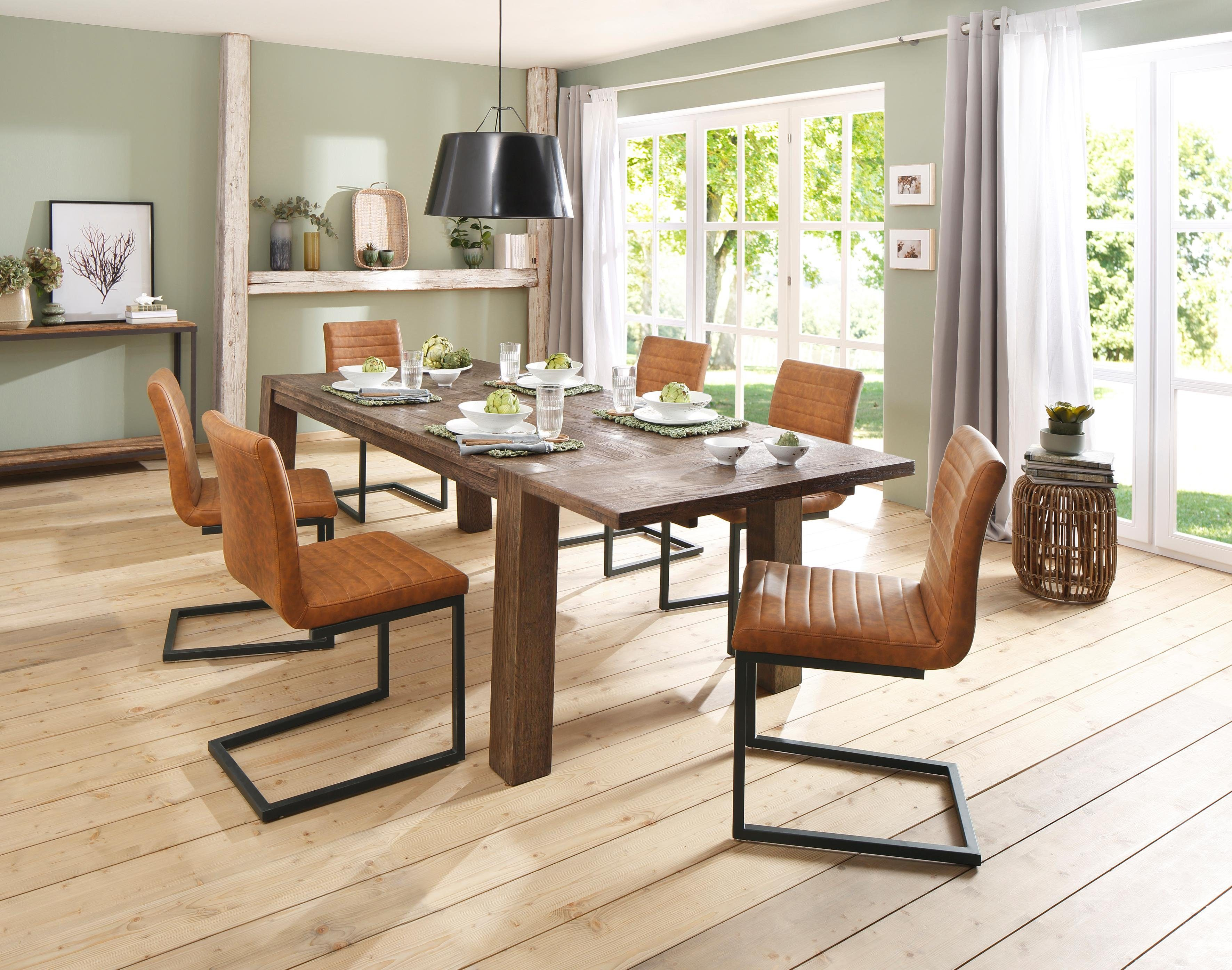 Essgruppe Home Affaire Home Affaire Essgruppe »alberte«, (set, 7 Tlg), Bestehend