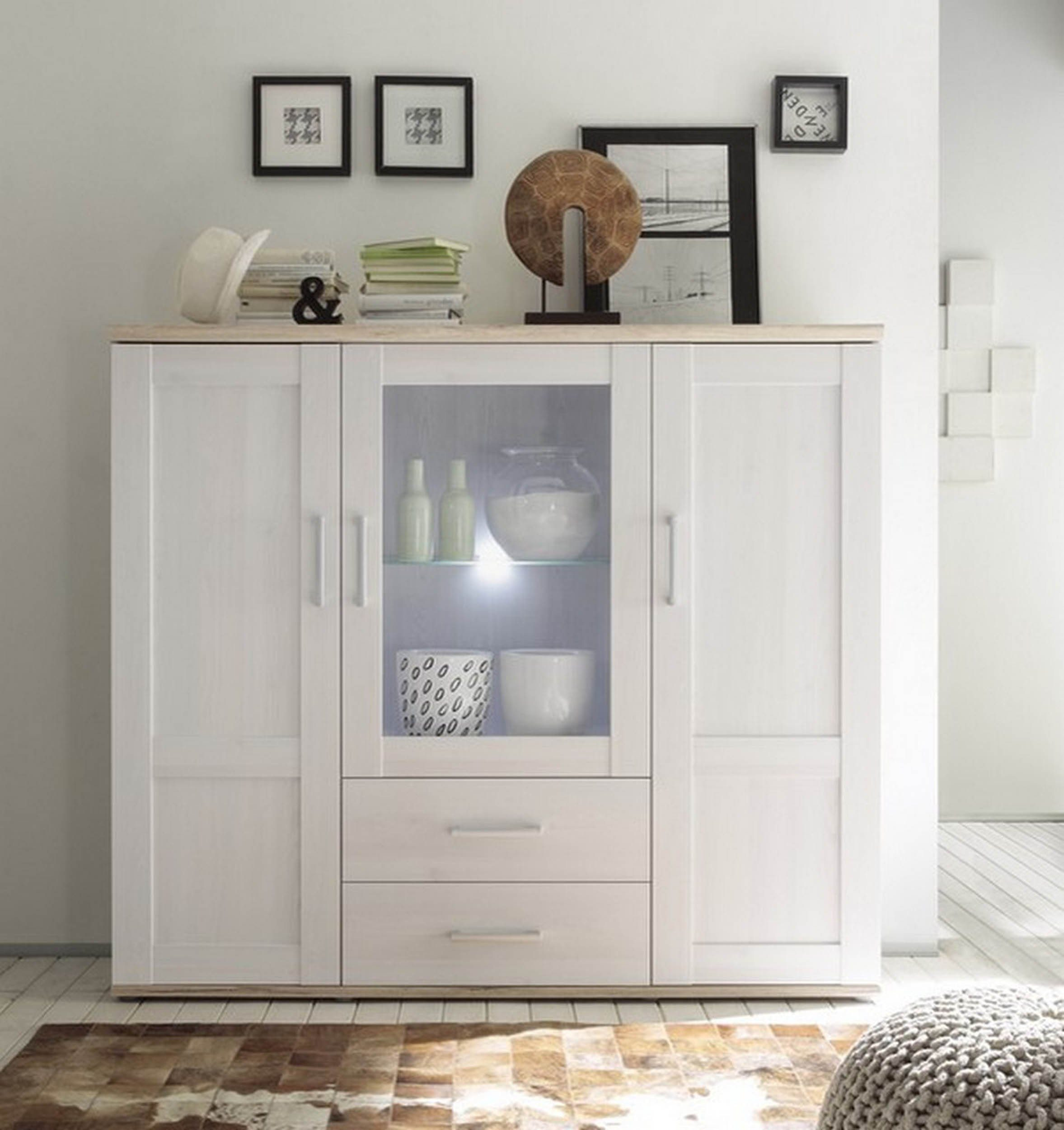 Highboard Kommode Hti Living Highboard Kommode Romance Kaufen Otto
