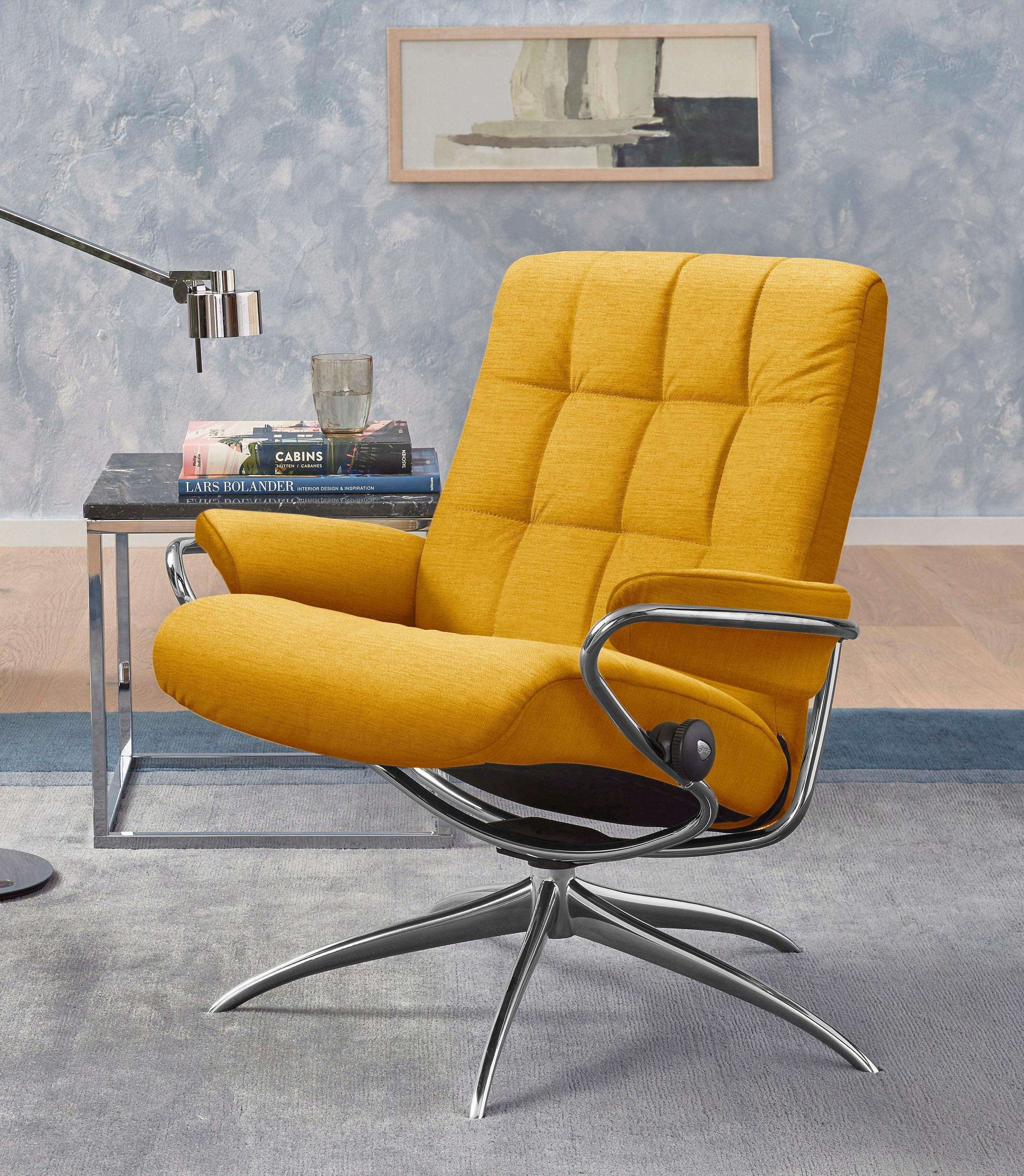 Stressless Relaxsessel London Low Back Mit Star Base Gestell Chrom Online Kaufen Otto