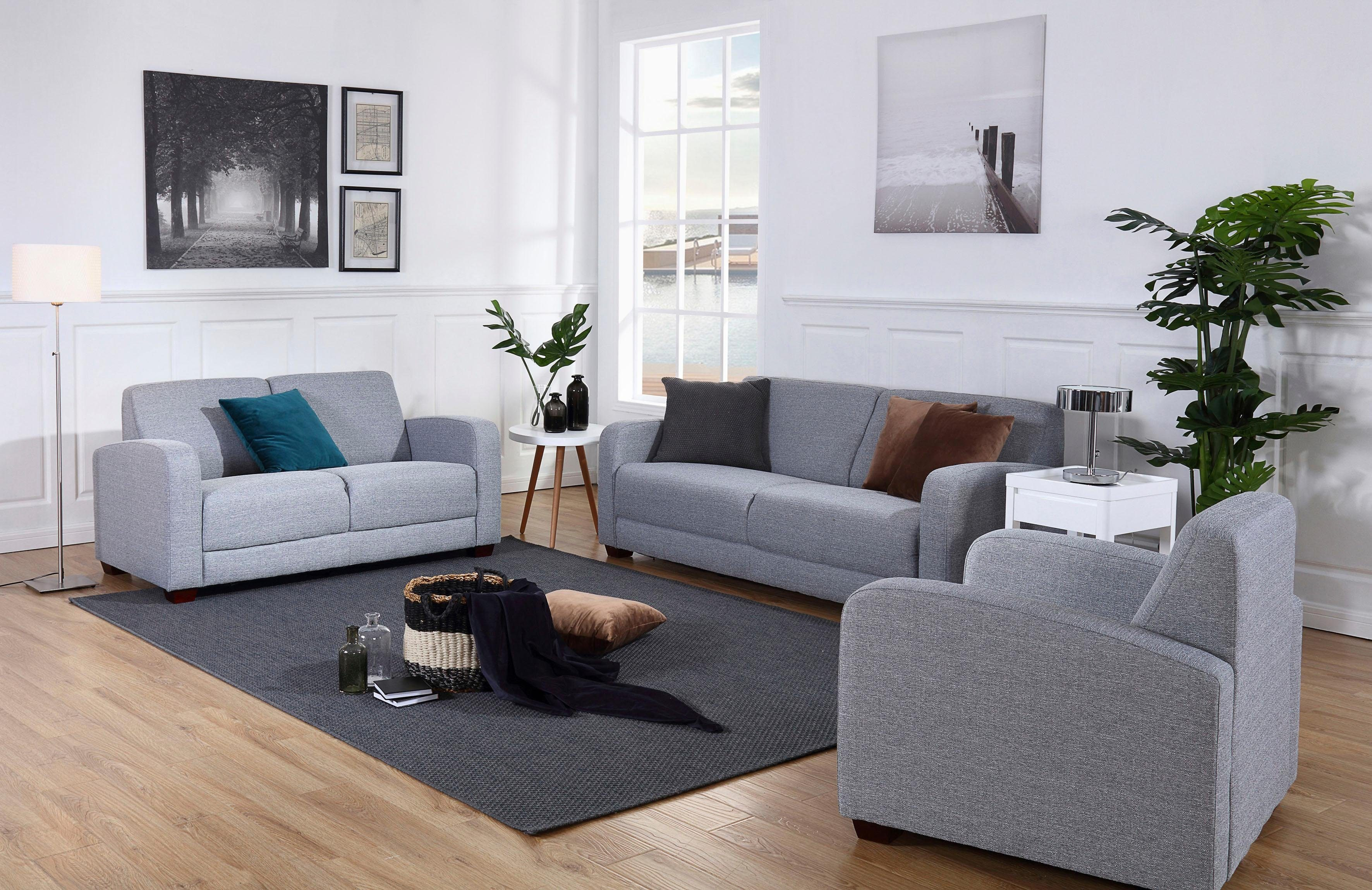 Atlantic Home Collection Couchtisch Atlantic Home Collection Ecksofa Mit Federkern Jetztgekauft