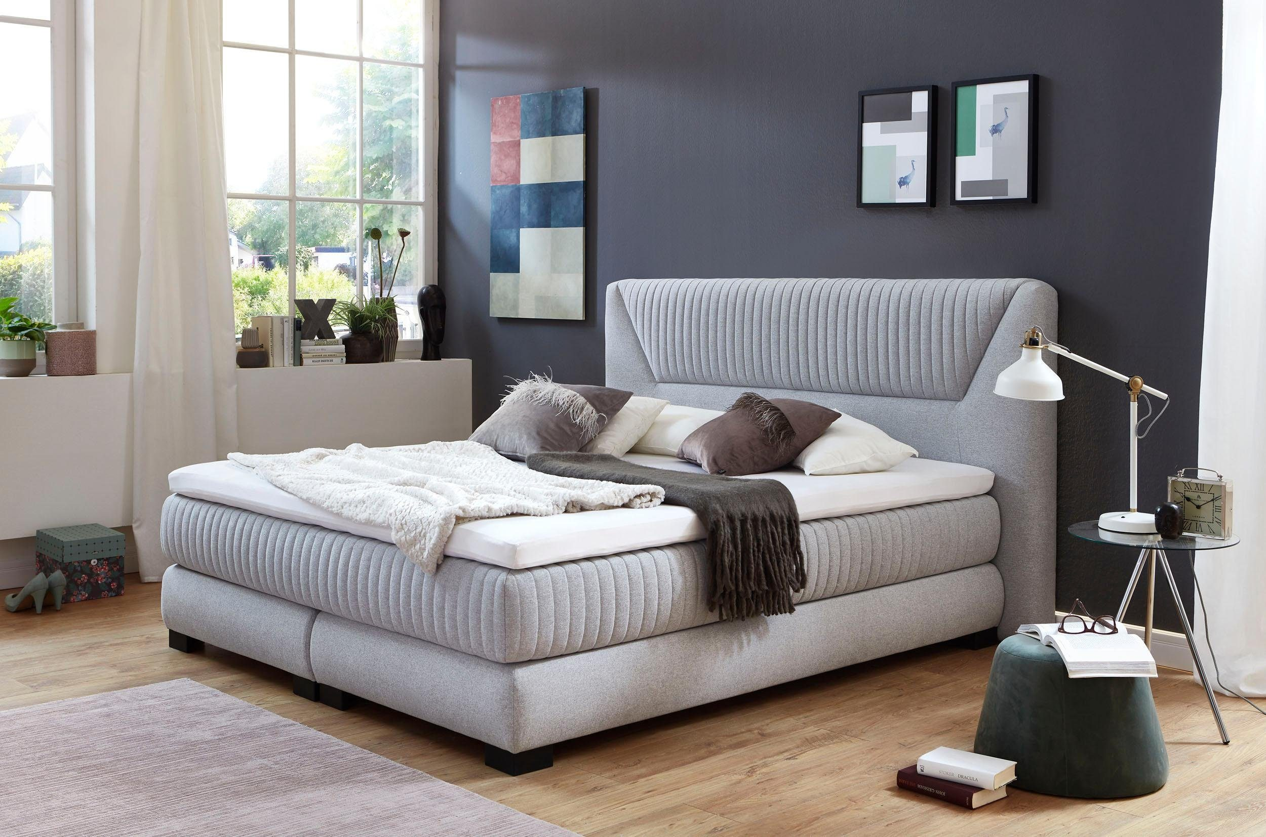 Atlantic Home Collection Boxspringbett Mit Kaltschaum