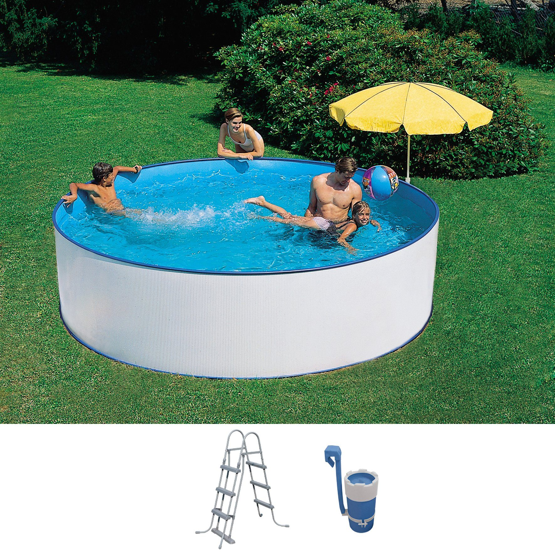 Solarplane Pool Rund 300 Summer Fun Set Rundpool 3 Tlg Øxh 300x90 Cm Otto