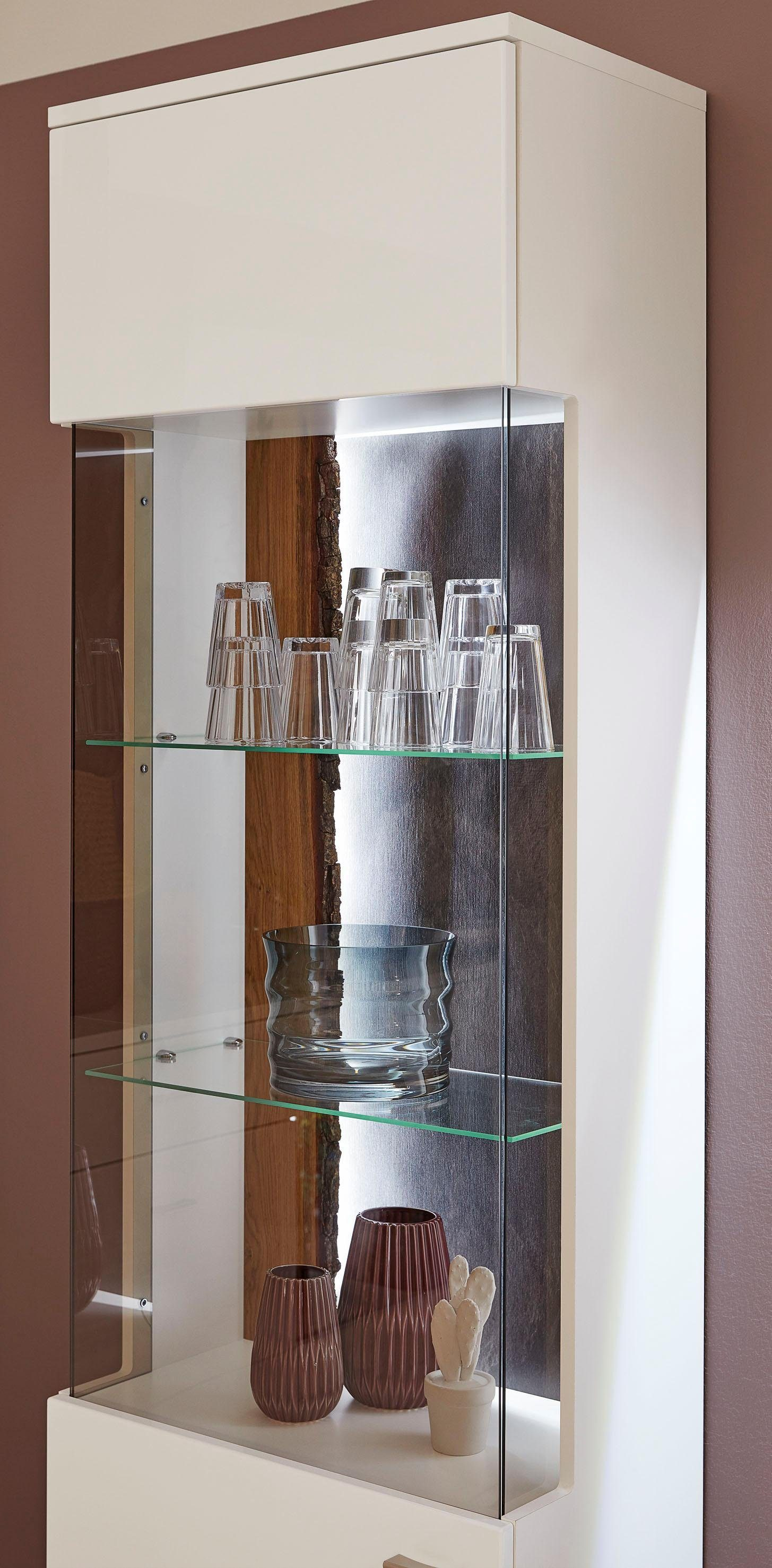 Musterring Wohnzimmer Set One By Musterring Vitrine »tacoma«, Höhe 207, 4 Cm