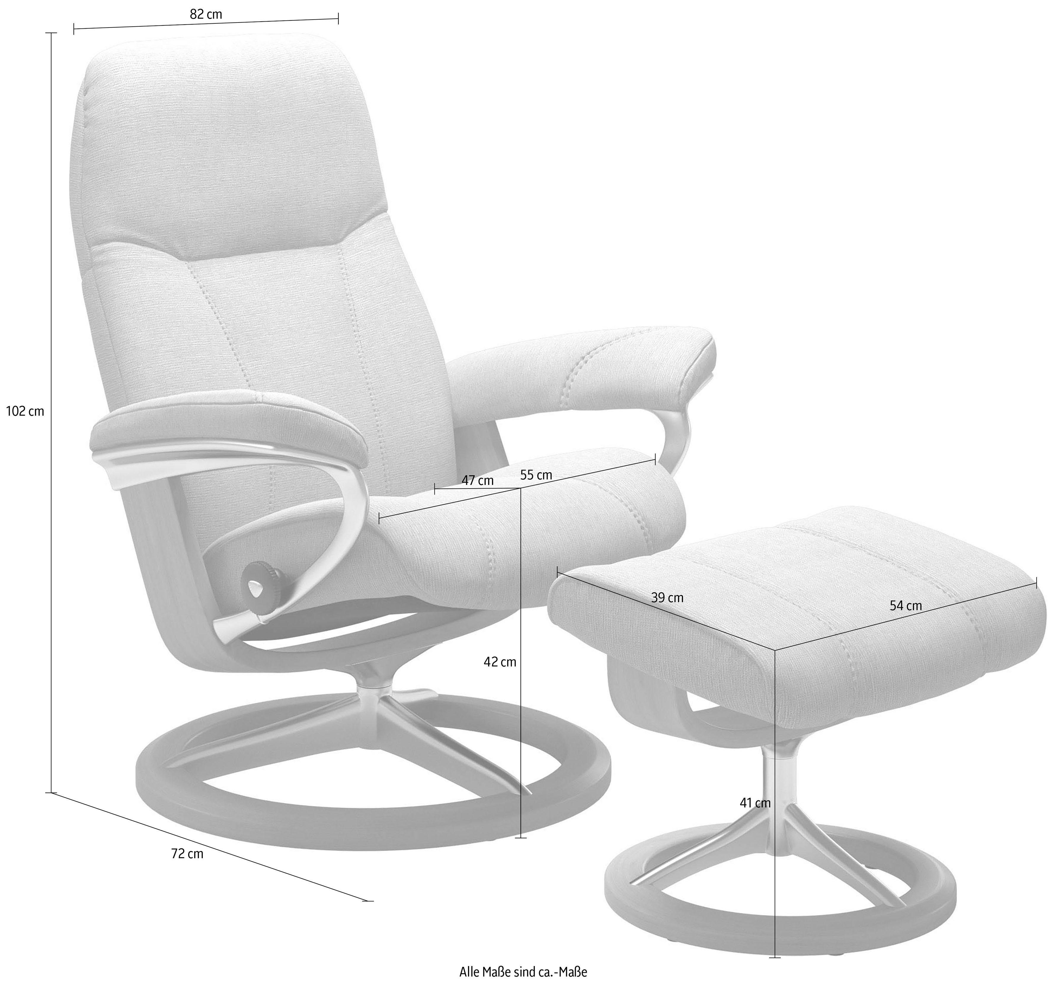 Stressless Sessel Inkl. Hocker Modell Sunrise (m) Classic Stressless Sessel Signature