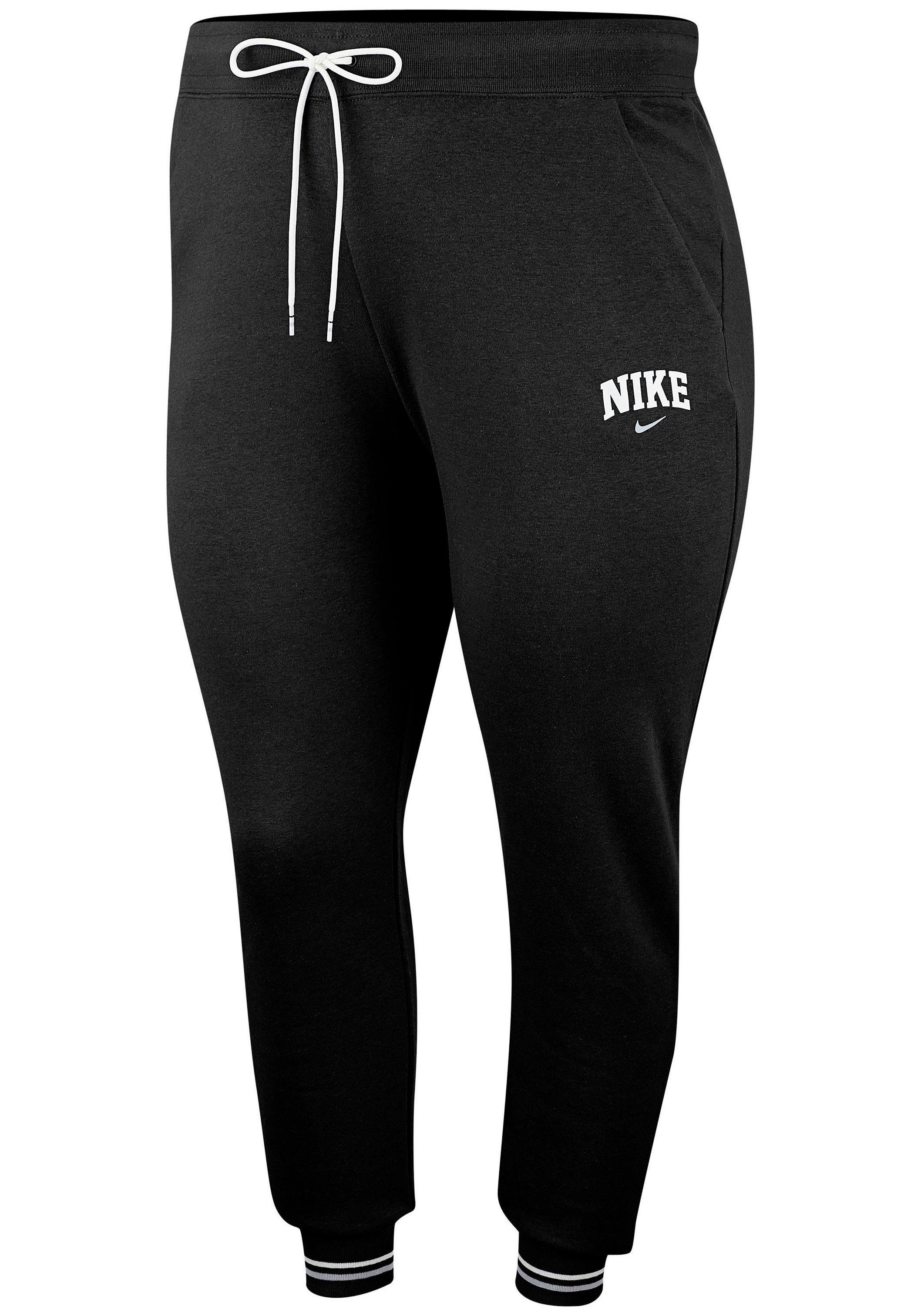 Nike Fleece Kinder Nike Sportswear Jogginghose »women Jogger Fleece Varsity