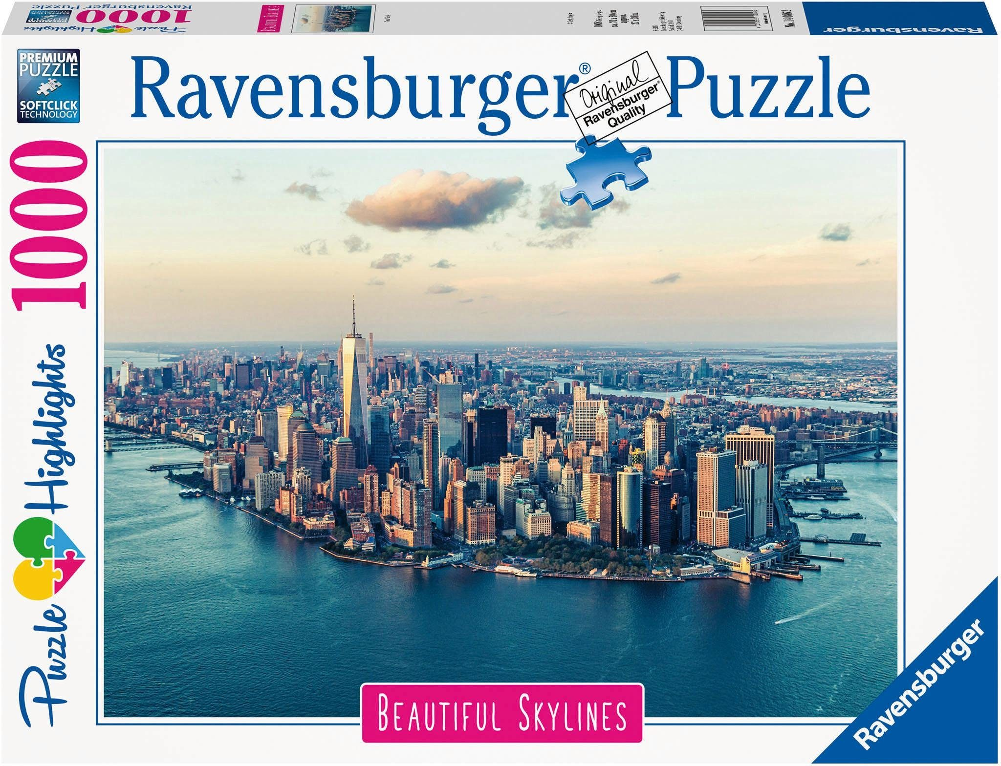 Küche Burger Qualität Ravensburger Puzzle »puzzle Highlights Beautiful Skylines