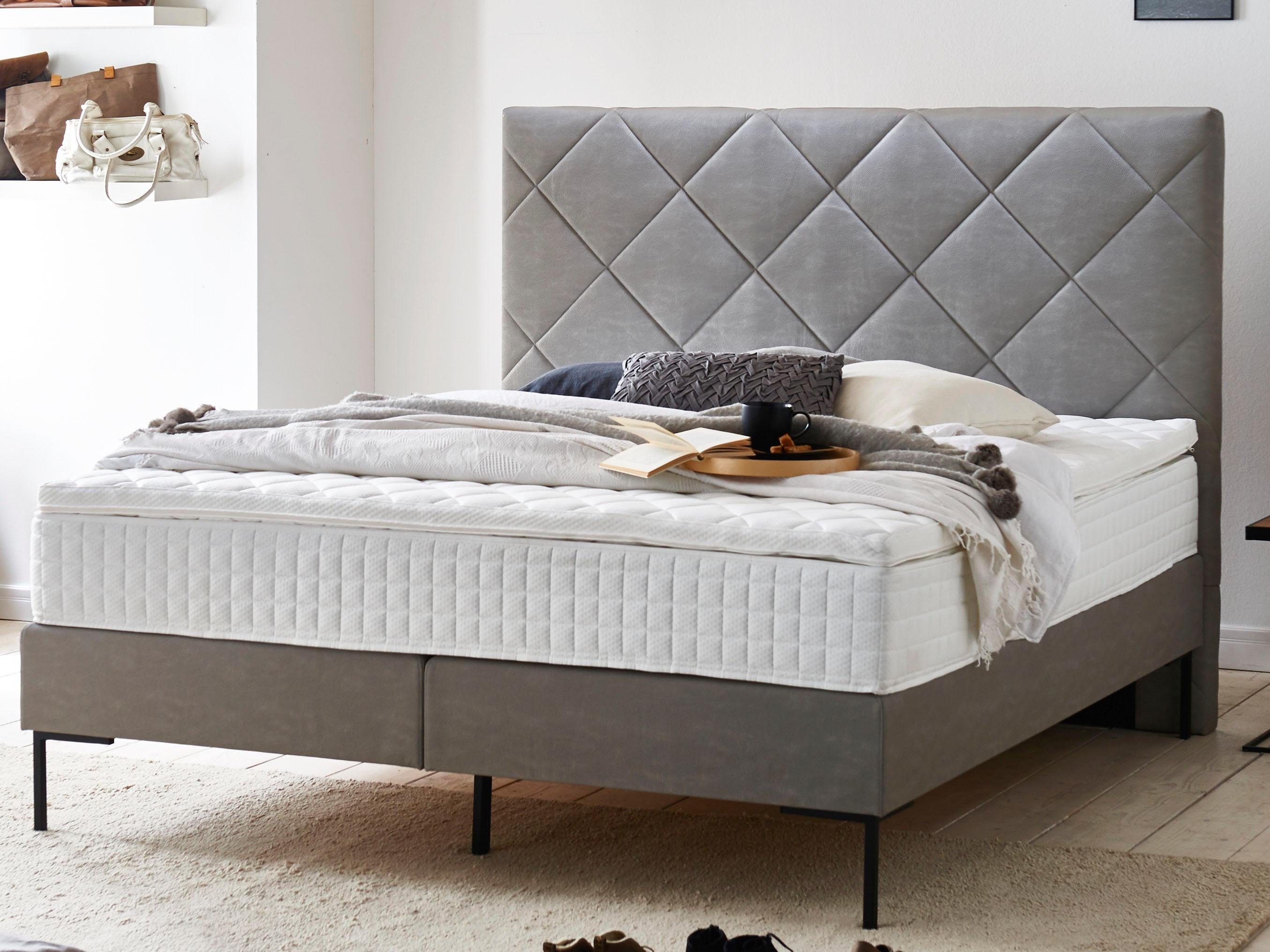 Boxspringbett Mit Topper Atlantic Home Collection Boxspringbett, Mit Topper | Otto
