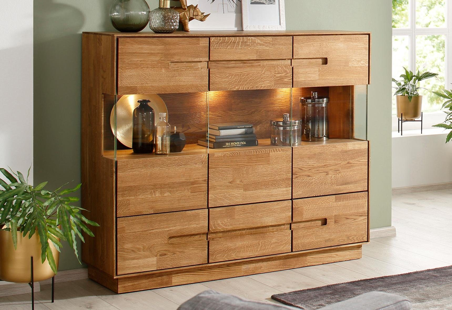 Premium Collection By Home Affaire Highboard Pavo