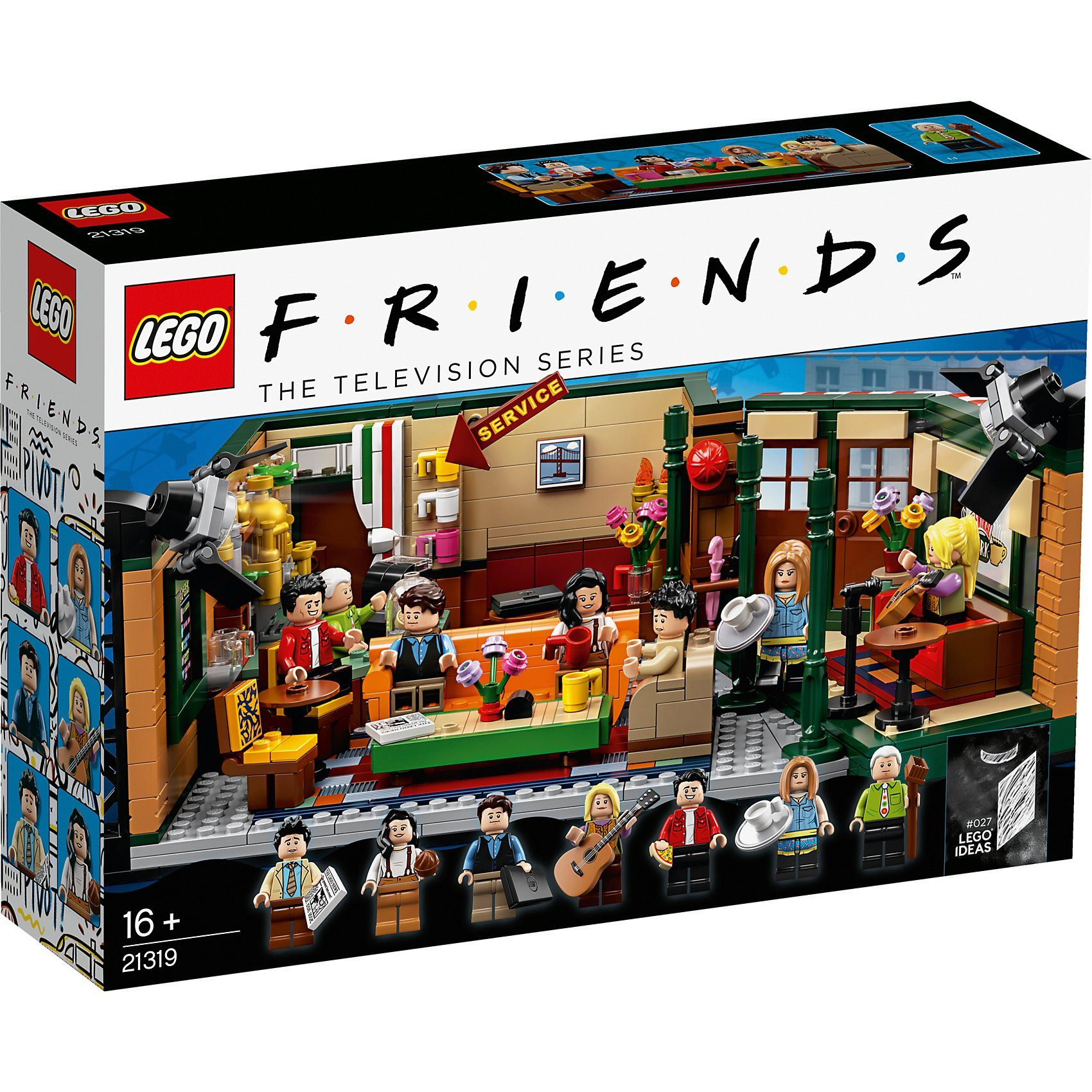 Otto Versand Möbel Sofa Lego® 21319 Ideas: Friends Central Perk Kaufen | Otto