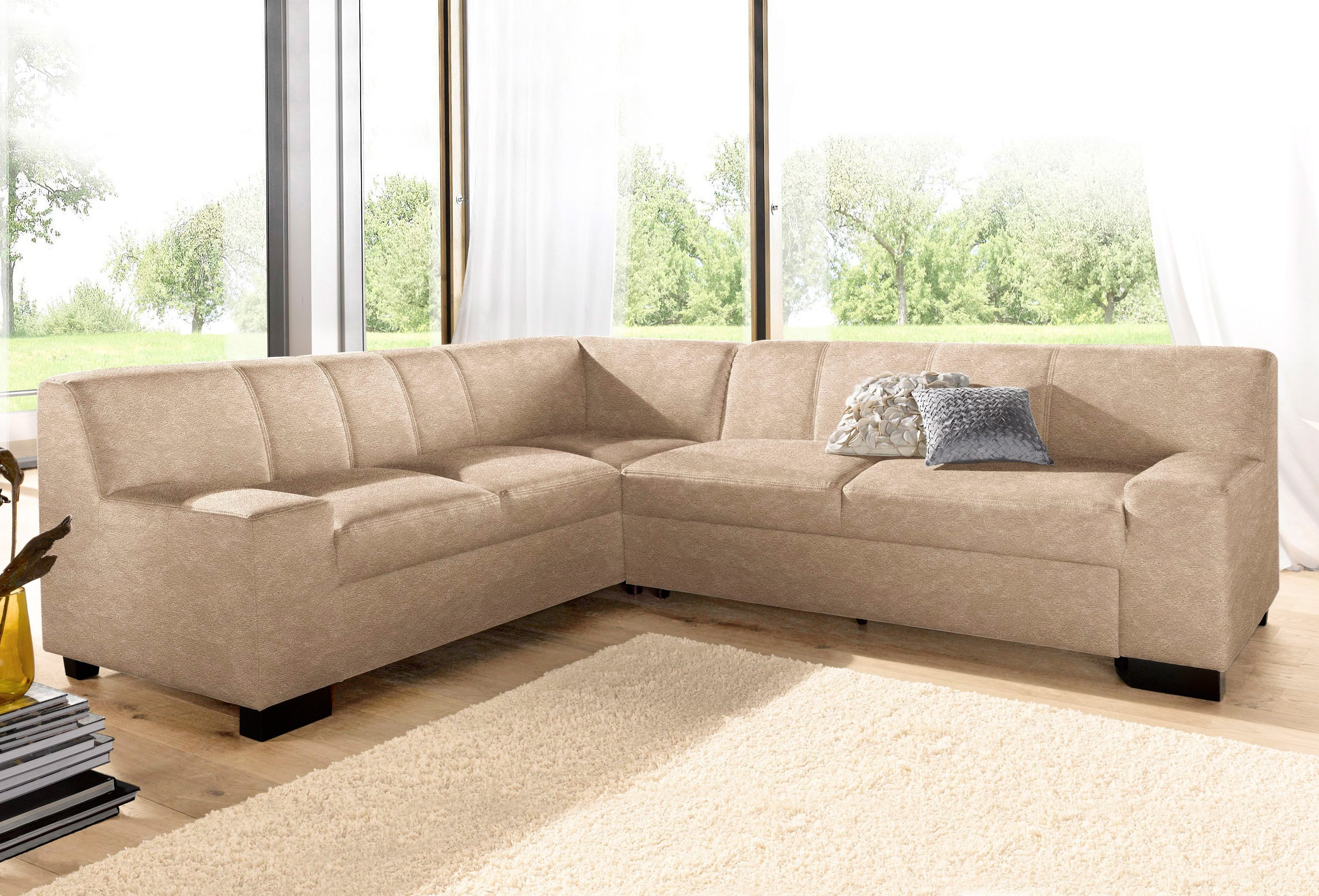 Kunstleder Ecksofa Domo Collection Ecksofa, Wahlweise Mit Bettfunktion Online