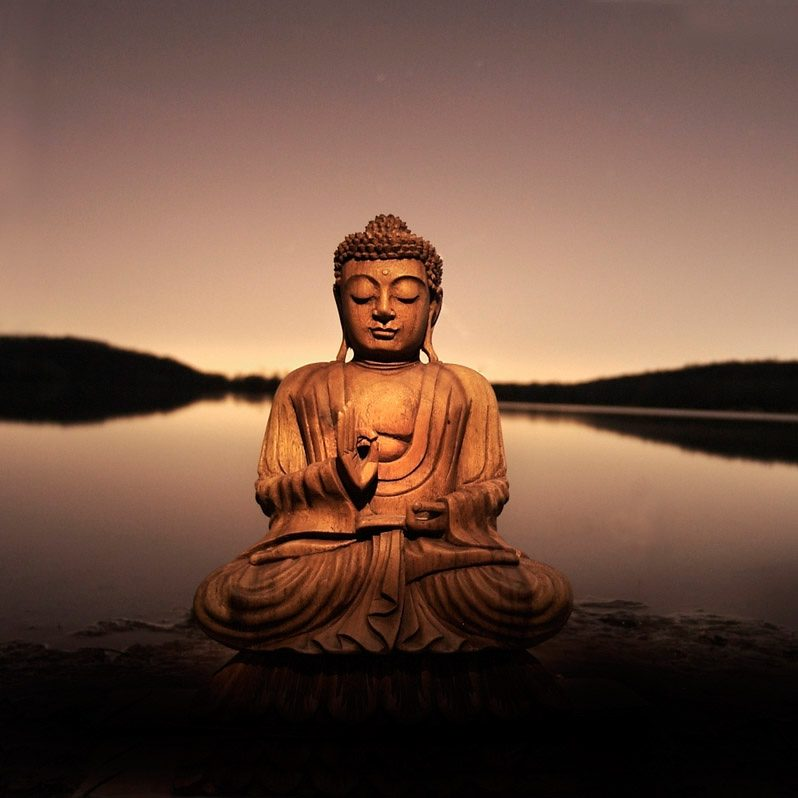 Buddha Bilder Bild, Home Affaire, »buddha - Calm Lake«, 40/40 Cm | Otto