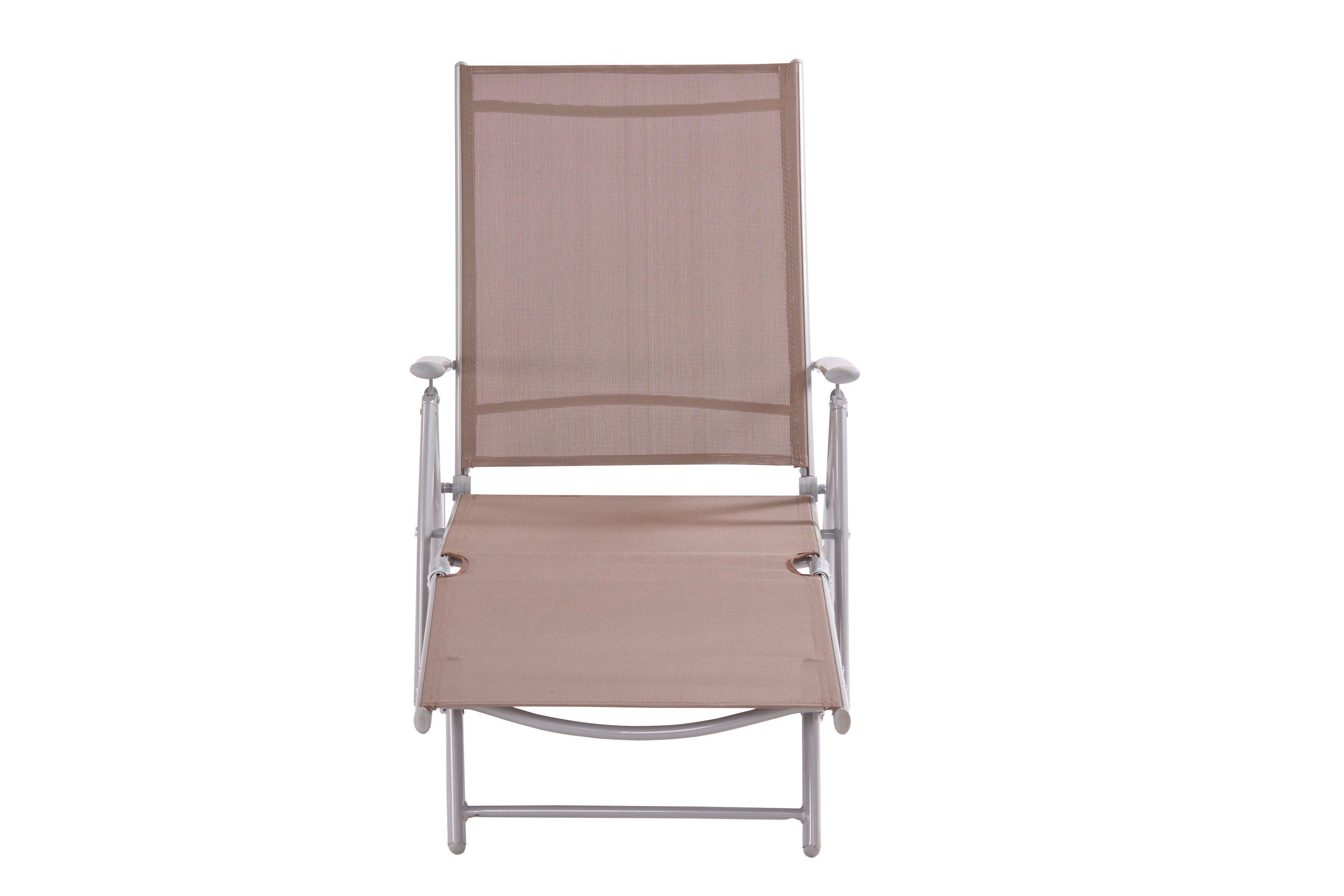 Ligstoel Tuin Aluminium : Ligstoel aluminium tuinligstoel zwart ligbed ligstoel relaxligstoel