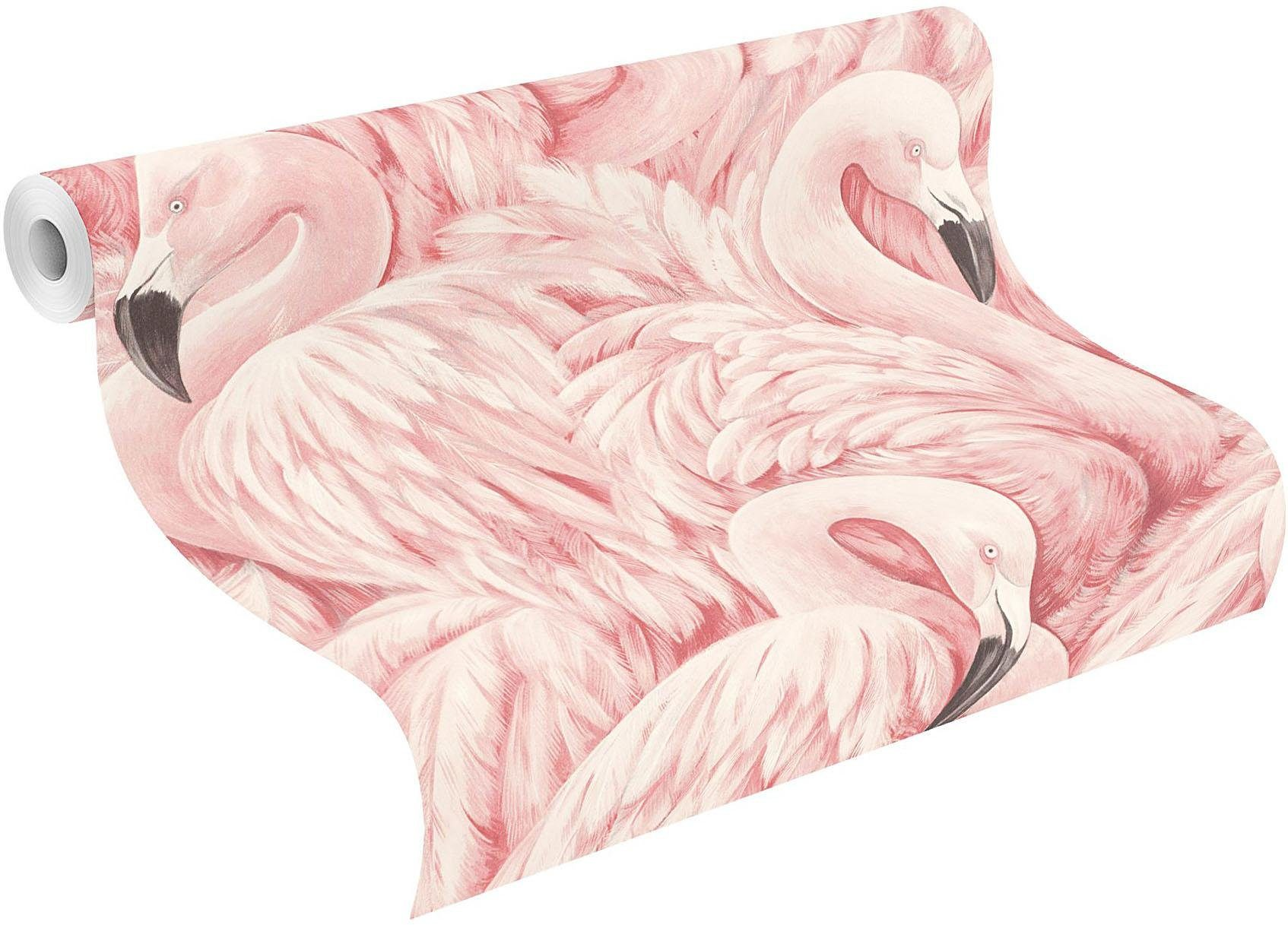 Behang Online Bestellen Behang Lucy In The Sky Flamingo