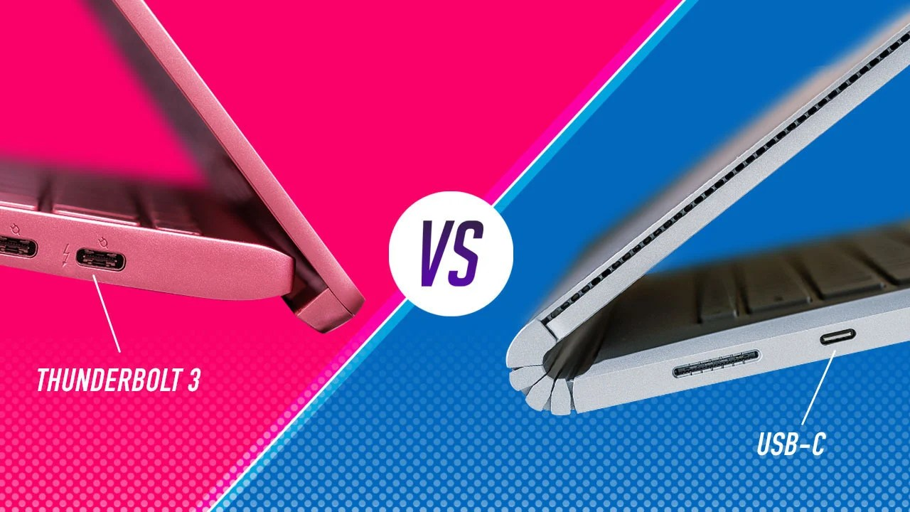 Usb C Thunderbolt 3 Vs. Usb-c: What's The Difference? | Pcmag