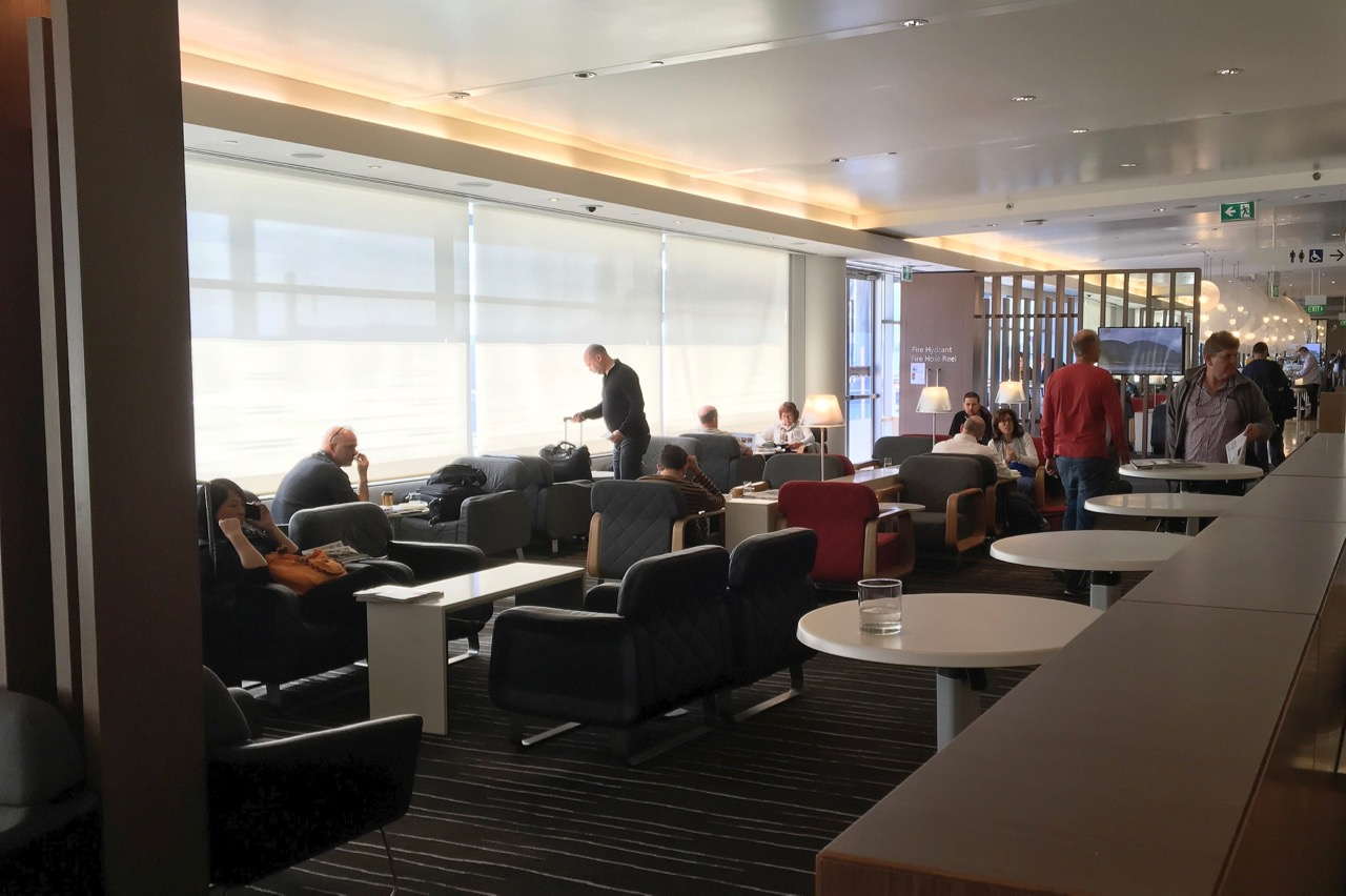 Lounge Sydney Qantas Sydney International Business Lounge Overview