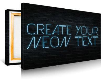 Neon Text Generator - PosterGen