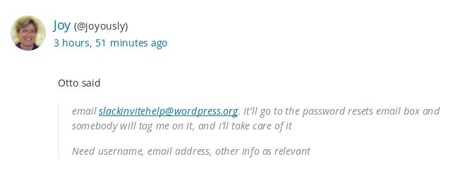 3849 (Support Theme make blockquote legible) \u2013 Making WordPressorg