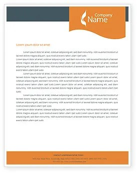 19 Free Download Letterhead Templates In Microsoft Word Power Line Letterhead Template Layout For Microsoft Word