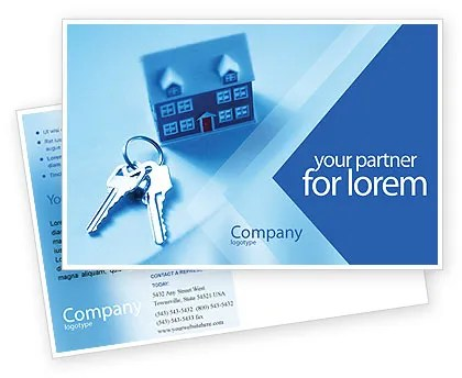 Real Estate Postcard Template in Microsoft Word, Adobe InDesign