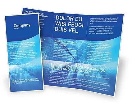 E-business Brochure Template Design and Layout, Download Now, 01983