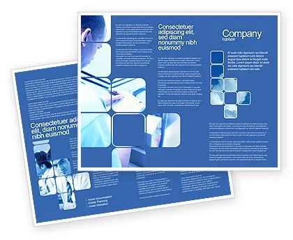 Business Analyst At Work Brochure Template Design and Layout
