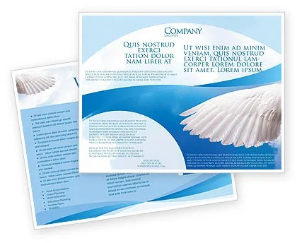 Holy Spirit Brochure Template Design and Layout, Download Now, 02361 - religious brochure
