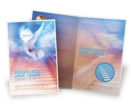 Holy Benediction Brochure Template Design and Layout, Download Now - religious brochure