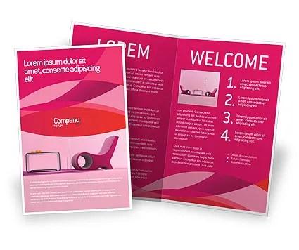 Modern Interior Design Brochure Template Design and Layout, Download - interior design brochure template