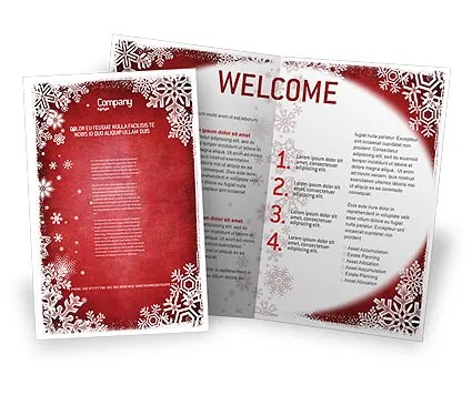 Christmas Theme Sale Poster Template In Microsoft Word, Publisher