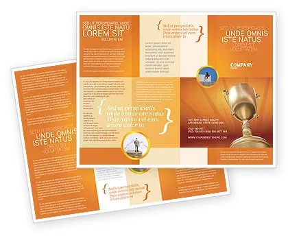 Award Brochure Template Design and Layout, Download Now, 02858