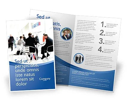 Business Environment Brochure Template Design and Layout, Download