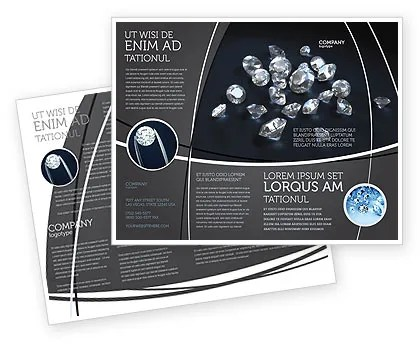 Jewelry Brochure Templates, Design and Layouts PoweredTemplate