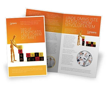 Team Building Brochure Template Design and Layout, Download Now