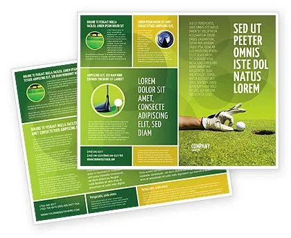 one sided brochure template radiovkm - double sided brochure templates