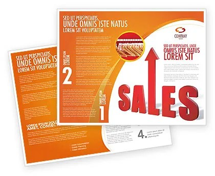 Sales Brochure Template Design and Layout, Download Now, 03579