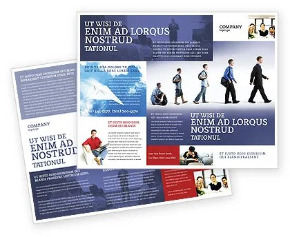 Education and Development Brochure Template Design and Layout