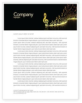 Free Letterhead Templates Microsoft Word Templates Modern Music Letterhead Template Layout For Microsoft
