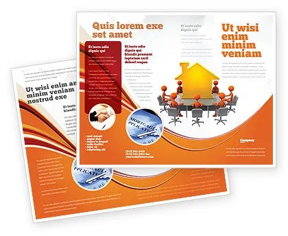Building Project Conference Brochure Template Design and Layout - conference brochure template
