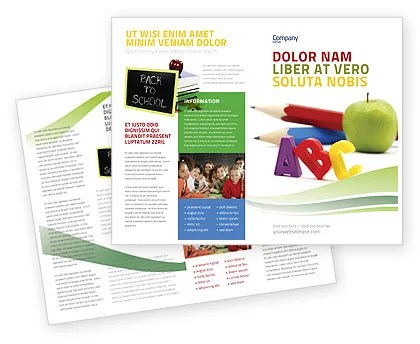 Start Education Brochure Template Design and Layout, Download Now