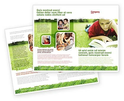 Reading On Summer Vacations Brochure Template Design and Layout - Vacation Brochure Template