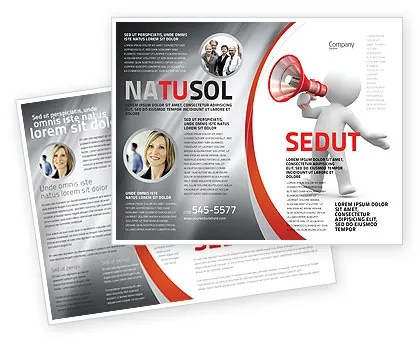Public Speaker Brochure Template Design and Layout, Download Now