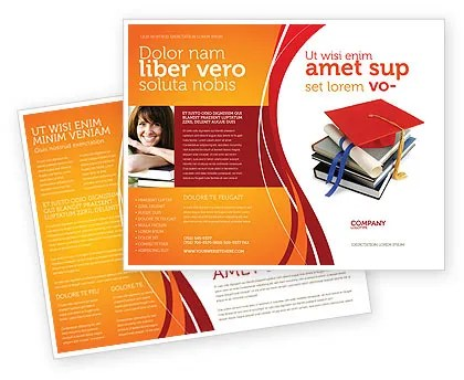 Higher Education Brochure Template Design and Layout, Download Now