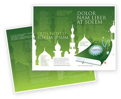 Coran Brochure Template Design and Layout, Download Now, 07628