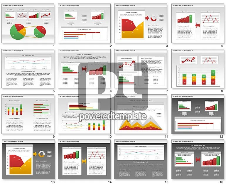 powerpoint line graph template - line graphs template