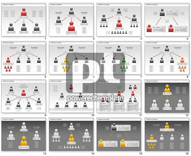 Hierarchy Diagram for PowerPoint Presentations, Download Now 00919
